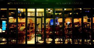 閉店後のレストランの光景の写真・画像素材[289490]