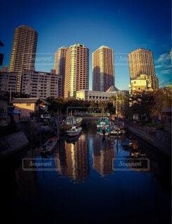 東京月島の風景の写真・画像素材[289507]