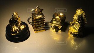 金色のキーホルダー - No.294606