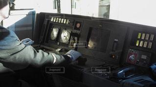 電車の運転士の写真・画像素材[294644]