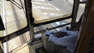 富山の路面電車の運転士の写真・画像素材[298203]