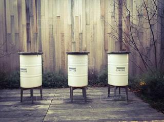 代官山のドラム缶の写真・画像素材[314184]
