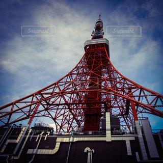東京タワーと空の写真・画像素材[321685]