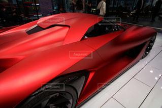 赤いスポーツカーの写真・画像素材[351427]