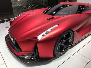 赤いスポーツカーの写真・画像素材[353772]