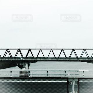 つくばエクスプレスの鉄橋の写真・画像素材[467643]