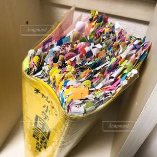 付箋がいっぱい。の写真・画像素材[471709]