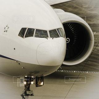 羽田空港に到着した飛行機 - No.854258