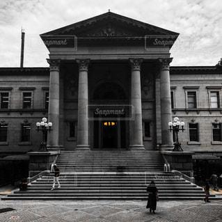 大阪の中之島図書館の写真・画像素材[854643]