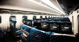 東海道新幹線の車内の写真・画像素材[855260]
