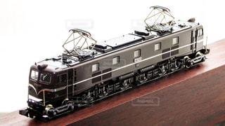 鉄道模型の電気機関車の写真・画像素材[856418]