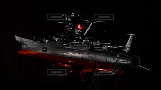 宇宙船艦ヤマトの模型の写真・画像素材[858950]
