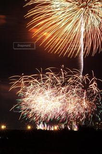 世田谷側の多摩川花火大会の写真・画像素材[889511]