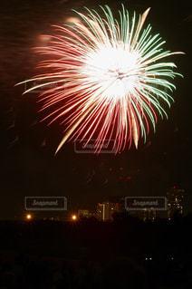世田谷側の多摩川花火大会の写真・画像素材[889513]