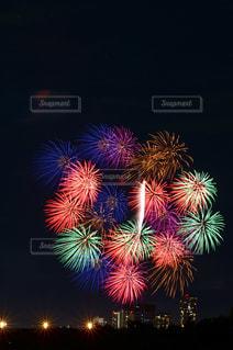 世田谷側の多摩川花火大会の写真・画像素材[889515]
