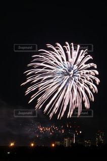 世田谷側の多摩川花火大会の写真・画像素材[889516]