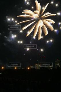 世田谷側の多摩川花火大会の写真・画像素材[889517]
