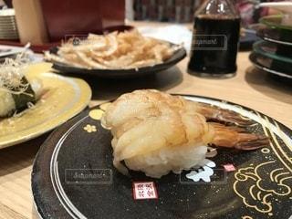 甘い海老のお寿司の写真・画像素材[948150]