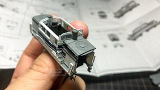 楽しい鉄道模型づくりの写真・画像素材[972111]