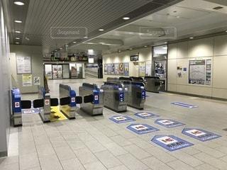 JR西日本住吉駅の自動改札機の写真・画像素材[980534]