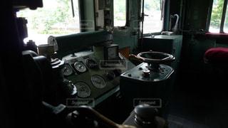 大井川鉄道の電気機関車の運転台の写真・画像素材[983988]