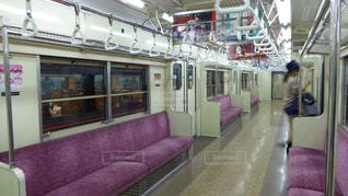 営団地下鉄6000系の古い車両の写真・画像素材[1003076]