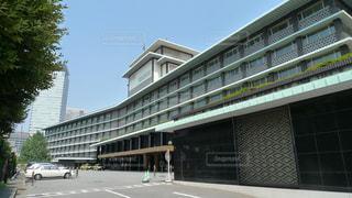 歴史あるホテルオークラの建物の写真・画像素材[1003546]