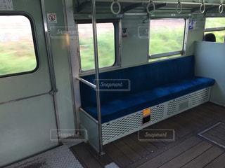 昔ながらのレトロなディーゼル列車の写真・画像素材[1003553]