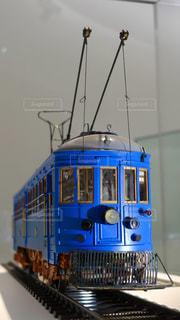 昔の阪神電車の青い車両 - No.1127922