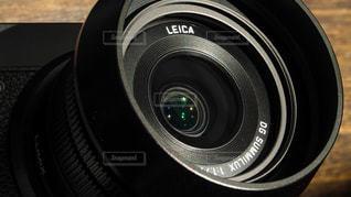 カメラのライカ製レンズの写真・画像素材[1187229]
