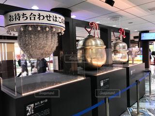 東京駅の待ち合わせスポット銀の鈴の写真・画像素材[1210816]