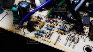 回路基板上のカウンターの写真・画像素材[1220022]
