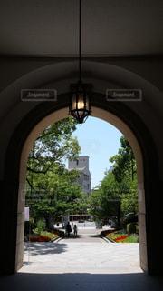 兵庫県公館の玄関の写真・画像素材[1222657]