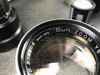カメラのレンズを分解してみたの写真・画像素材[1321380]