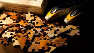 変わった形のピースで作るパズルがおもしろいの写真・画像素材[1400756]