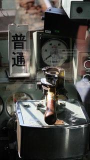 神戸電鉄の古い電車の運転台の写真・画像素材[1410353]