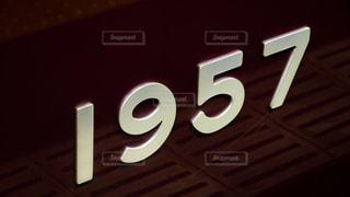 阪急電車1000系の車番の写真・画像素材[1444089]