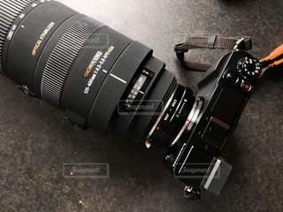 カメラの望遠レンズの写真・画像素材[1452997]