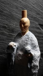 氷河期に行ってしまった修行僧のフィギュアの写真・画像素材[1460935]
