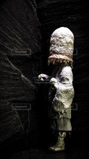 氷河期に行ってしまった修行僧のフィギュアの写真・画像素材[1460938]