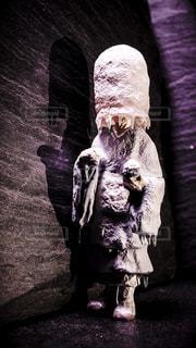 氷河期に行ってしまった修行僧のフィギュアの写真・画像素材[1460941]