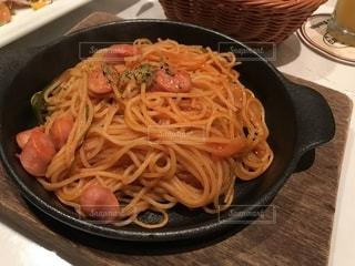 アツアツのスパゲティナポリタンの写真・画像素材[1464459]