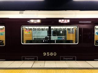 阪急神戸線の電車9000系の写真・画像素材[1480206]