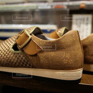メンズの新しい靴の写真・画像素材[1518065]