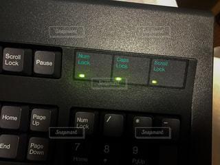 セガのキーボードの写真・画像素材[1575853]