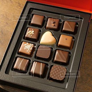 バレンタインのチョコレートの写真・画像素材[1836050]