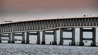 りんくうタウンから眺める関空連絡橋の写真・画像素材[1845016]