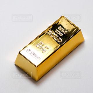 まばゆいばかりの金塊、のフィギュア。の写真・画像素材[1851862]