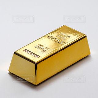 まばゆいばかりの金塊、のミニチュアの写真・画像素材[1851864]