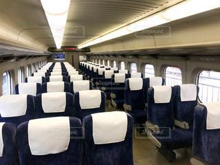 東海道新幹線のぞみの車内の写真・画像素材[1872245]